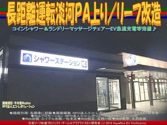 長距離運転淡河PA上り/リーフ改造02