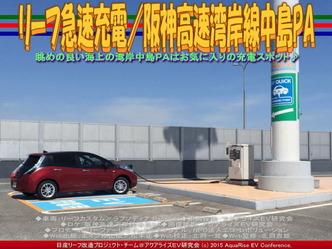 リーフ急速充電/阪神高速湾岸線中島PA04