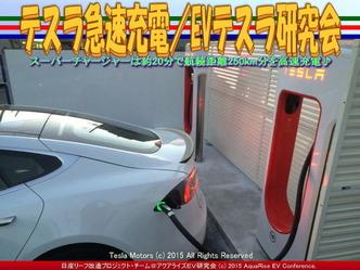 テスラ急速充電/EVテスラ研究会02