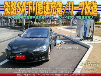 淡路SA下り急速充電(2)/リーフ改造02
