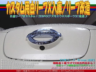 カスタム用白リーフX入庫/リーフ改造03