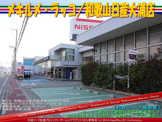 メキルメ・ラッコ/和歌山日産大浦店@日産リーフ改造