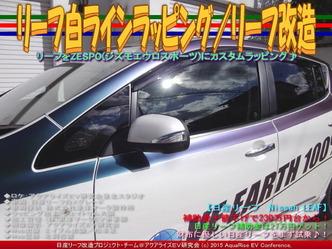 リーフ白ラインラッピング(5)/リーフ改造04