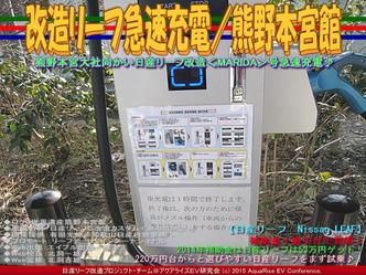 改造リーフ急速充電/熊野本宮館03