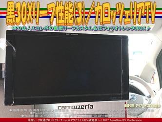 黒30Xリーフ性能(3)/カロッツェリアTV画像01