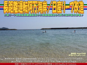 リーフ長距離運転/阿万海岸海水浴01