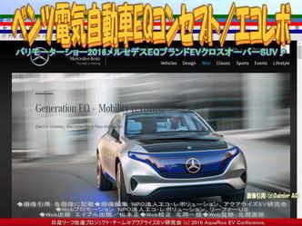 ベンツ電気自動車EQ(2)/エコレボ03