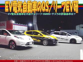 EV電気自動車のQS(2)/リーフEV研05