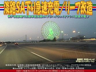 淡路SA下り急速充電(3)/リーフ改造03