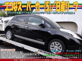 エコなスーパーカー(5)/日産リーフ05