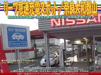 リーフ急速充電スポット/奈良大和郡山01