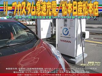 リーフカスタム急速充電/松本日産松本店02