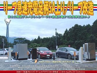 リーフ急速充電足柄SA上り/リーフ改造04