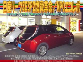 日産リーフZESP2燃費革命(5)/NPOエコレボ画像02
