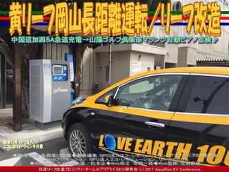 黄リーフ美作文化センター急速充電/リーフ改造画像03