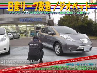日産リーフ改造/ジオペット@アクアライズEV研究会 06