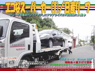 エコなスーパーカー(1)/日産リーフ01