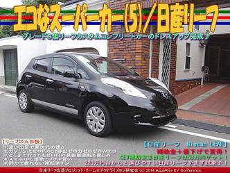 エコなスーパーカー(5)/日産リーフ02