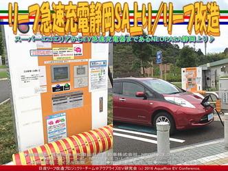 リーフ急速充電静岡SA上り/リーフ改造03