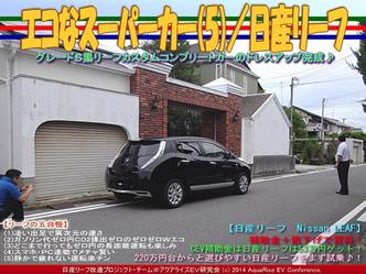 エコなスーパーカー(5)/日産リーフ04