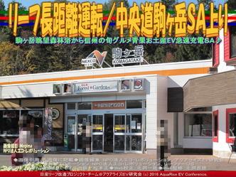 リーフ長距離運転/中央道駒ヶ岳SA上り01