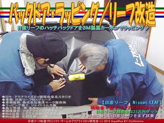 バックドア・ラッピング(2)/リーフ改造01