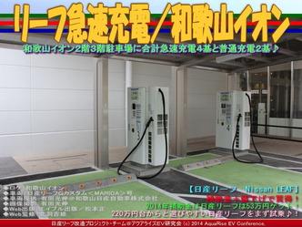 リーフ急速充電/和歌山イオン01