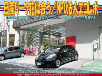 日産リーフ花似合う(3)/NPOエコレボ画像03