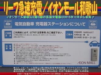 リーフ急速充電(2)/イオンモール和歌山02