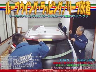 ルーフウイング・ラッピング/リーフ改造01