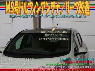MS号ドルフィンアンテナ/リーフ改造01