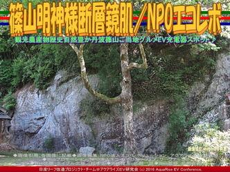 篠山明神様断層鏡肌/NPOエコレボ02