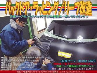 バックドア・ラッピング(3)/リーフ改造03