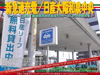 新急速充電/日産大阪和泉中央@リーフカスタム02
