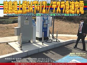 徳島道上板SA下り(2)/テスラ急速充電03