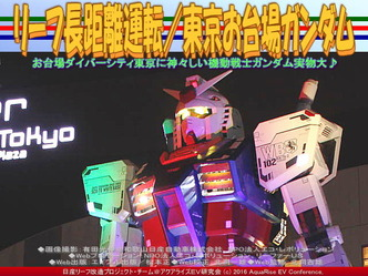 東京お台場ガンダム(3)/リーフ長距離運転05