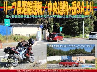 リーフ長距離運転/中央道駒ヶ岳SA上り03