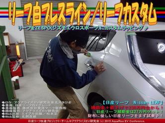 リーフ白プレスライン/リーフカスタム01