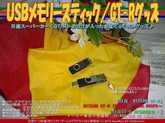 USBメモリースティック/GT-Rグッズ01