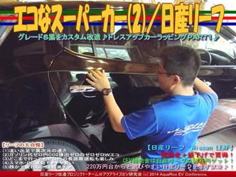 エコなスーパーカー(2)/日産リーフ01
