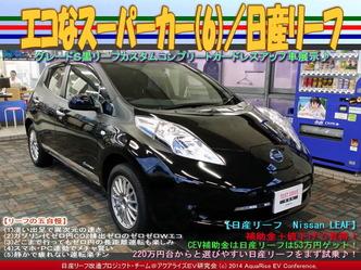 エコなスーパーカー(6)/日産リーフ01