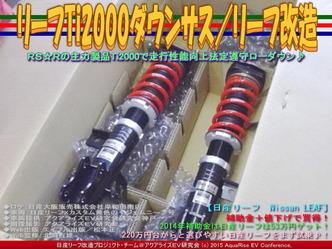 リーフTi2000ダウンサス(2)/リーフ改造01