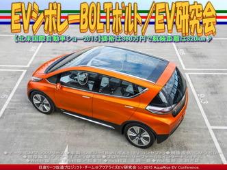 EVシボレーBOLTボルト/EV研究会02