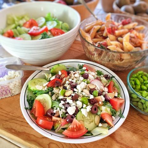 kale, edamame salad4