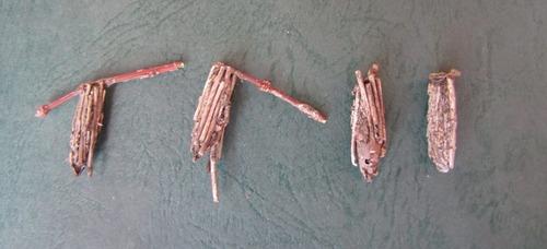 ミノムシ4個