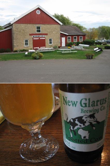 ウィスコンシンの石の家とビール