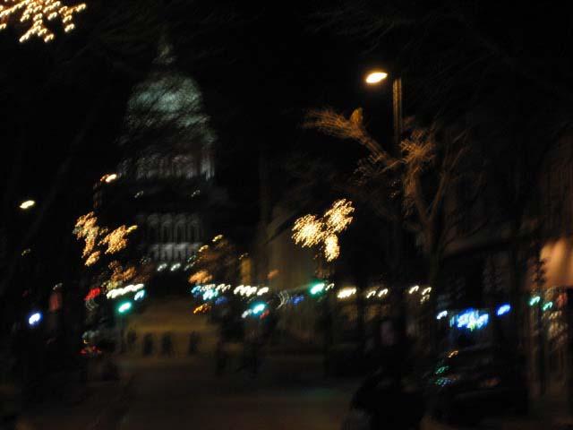 夜のキャピトル@ステイトストリート