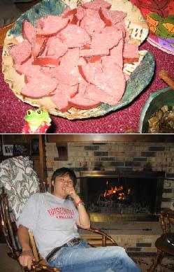 パム家で夕食