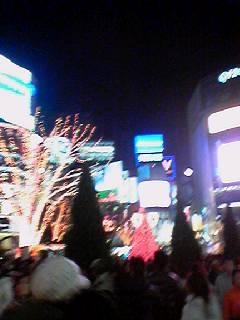 渋谷のクリスマス