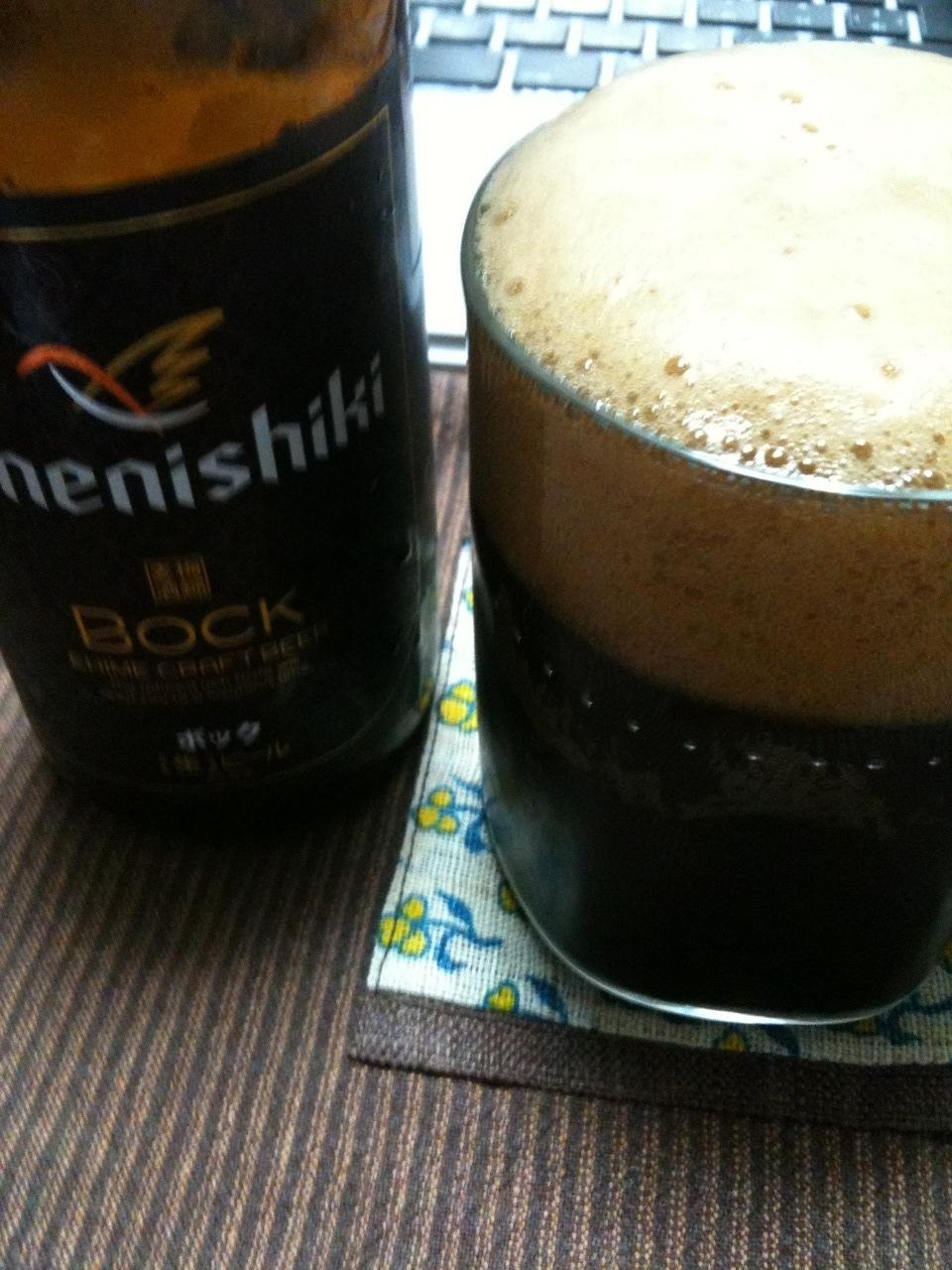 梅錦ビール(ボック)